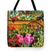 Farm - Food - At The Farmers Market Tote Bag