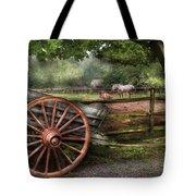 Farm - Horse - Grey Mare Tote Bag