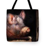 Farm - Pig - Piggy Number Two Tote Bag