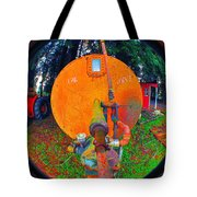 Farm And Logging Machinery Tote Bag