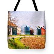 Farm Around The Corner Tote Bag