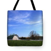Farm At Sunset Tote Bag