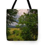 Farm Before The Storm Tote Bag