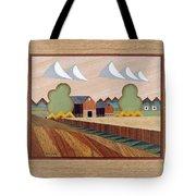 Farm By Ripon-marquetry Tote Bag