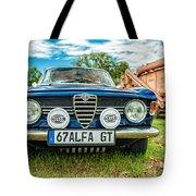 Farm Car - Alpha Gt Tote Bag