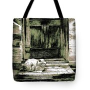Farm Cat Tote Bag