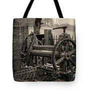 Farm Equipment Art Tote Bag