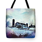 Farm Fantasy Tote Bag