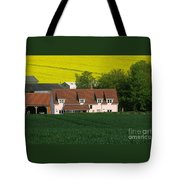 Farm Fields Tote Bag