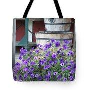 Farm Flowers Tote Bag