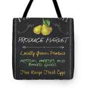 Farm Fresh Produce Tote Bag