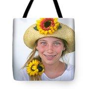 Farm Girl Tote Bag