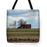 Farm House And Barn Tote Bag
