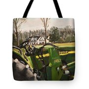 Farm In Chapel Hill Tote Bag