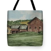 Farm In Summer Tote Bag