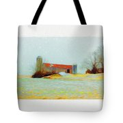 Farm In The Country Tote Bag