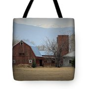 Farm In The Foothills Tote Bag