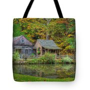 Farm In Woods Tote Bag