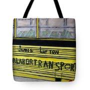 Farm Labor Bus Tote Bag