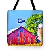 Farm Near Gettysburg Tote Bag