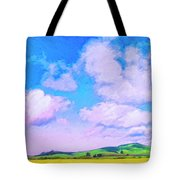 Farm Near San Luis Obispo Tote Bag