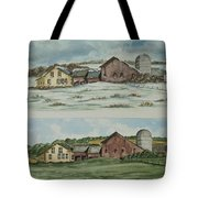 Farm Of Seasons Tote Bag