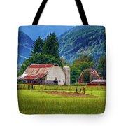 Farm, Randall, Wa Tote Bag