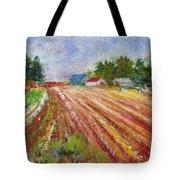 Farm Rows Tote Bag