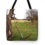 Farm Scene Tote Bag