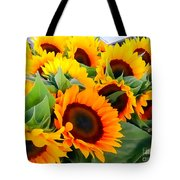 Farm Stand Sunflowers #8 Tote Bag