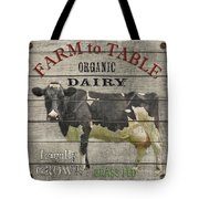 Farm To Table Dairy-jp2629 Tote Bag