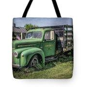 Farm Truck Tote Bag