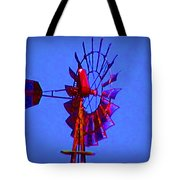 Farm Windmill Tote Bag