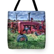 Farmall Graveyard Tote Bag