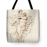 Farmer Girl Tote Bag