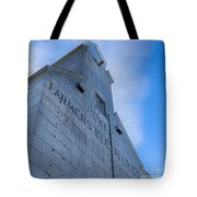 Farmers Grain Elevator, Power, Montana Tote Bag