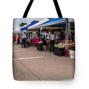Farmers Market Before The Crowd Tote Bag