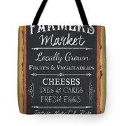 Farmer's Market Signs Tote Bag