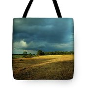 Farmers Race Against The Weather Frankenmuth Michigan Tote Bag
