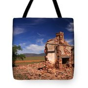 Farmhouse Cottage Ruin Flinders Ranges South Australia Tote Bag