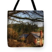 Farmhouse In The Valley Tote Bag