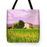 Farmhouse In Tuscany Tote Bag