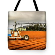 Farming Field Equipment Tote Bag