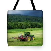 Farming New York State Before The July Storm 02 Tote Bag