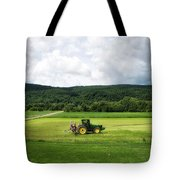 Farming New York State Before The July Storm 03 Tote Bag