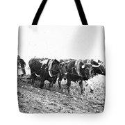 Farming: Ploughing, C1930 Tote Bag