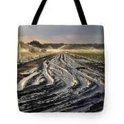 Farming Strawberries Tote Bag