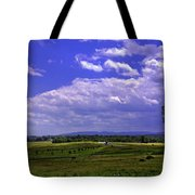 Farmland In Gettysburg Version II Tote Bag
