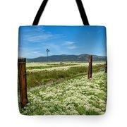 Farmland Scenery Tote Bag