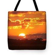 Farmland Sunset Tote Bag